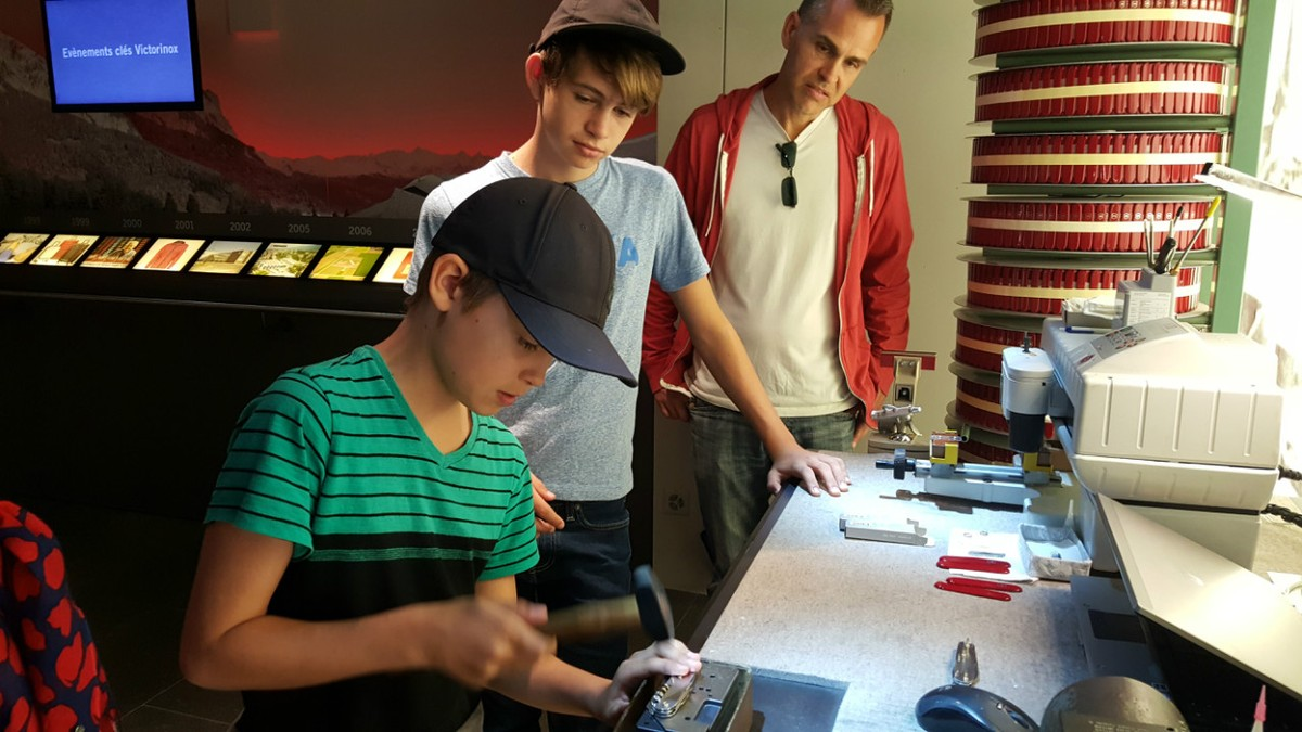 Building Swiss Army Knives In Switzerland An